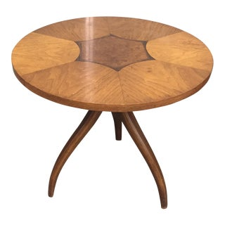"Drexel ""Swag-Leg"" Gueridon Side Table"