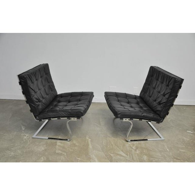 Mies Van Der Rohe Tugendhat Lounge Chairs for Knoll - Image 2 of 9