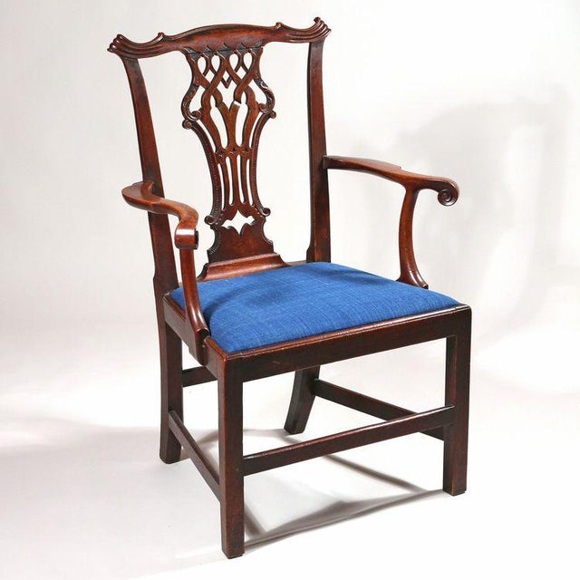 George III Mahogany Armchair - Image 2 of 8