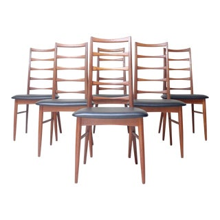 Niels Koefoed for Koefoed Hornslet Dining Chairs - Set of 6