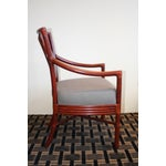 Image of McGuire Orlando Diaz-Azcuy Salon Dining Arm Chair