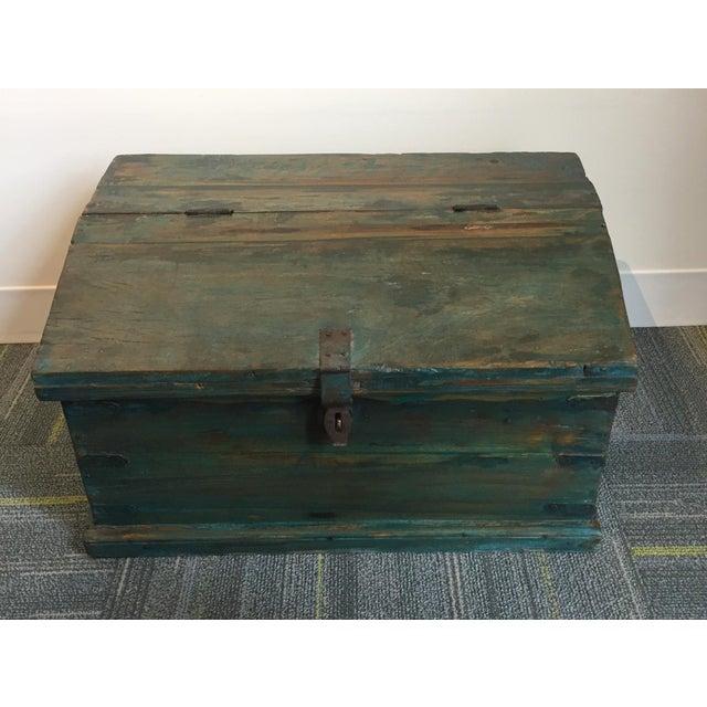 Antique Child's School Desk Box - Image 6 of 7
