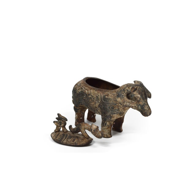Chinese Ram Vessel Archaistic Bronze - Image 2 of 6