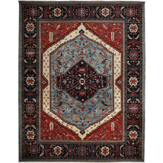 "Ziegler Hand Knotted Area Rug - 9'2"" X 11'9"""