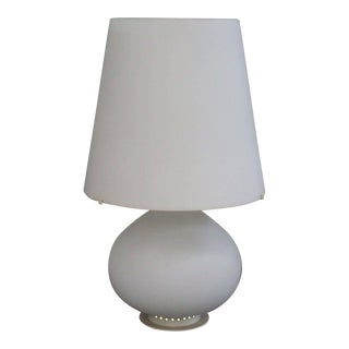 Max Ingrand White Table Lamps - A Pair