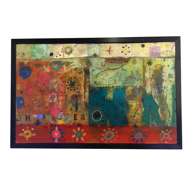 Multicolor Collage by Michael Cutlip - Image 1 of 3