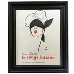 Image of Le Rouge Baiser Print