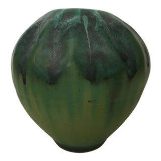 Green Studio Pottery Vase