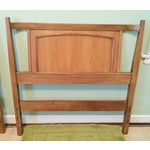 Image of Mid-Century Modern Twin-Size Headboards - a Pair