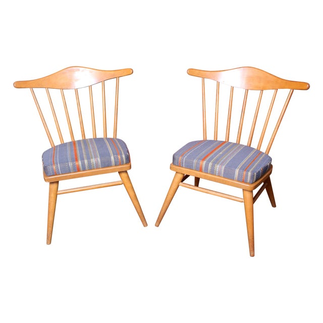 1950s Conant Ball Sidechairs Attr. Russel Wright - Image 1 of 6