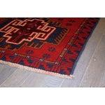 Image of Apadana - Vintage Red & Blue Baluch Rug - 3' X 5'