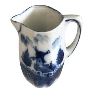 Vintage Delft Flow Ware Creamer