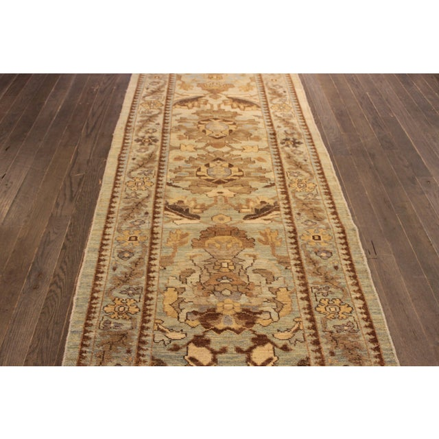 "Persian Sultanabad Rug - 3'2"" x 13'9"" - Image 3 of 10"