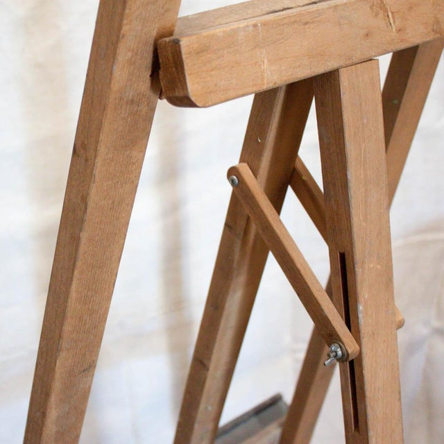 Image of Vintage French Adjustable Painter's Easel