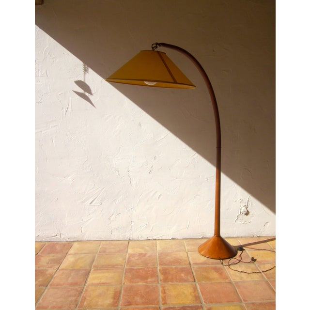 Roche Bobois Danish Modern Arched Floor Lamp - Image 3 of 9