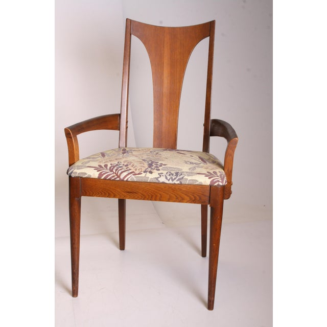 Mid Century Modern Broyhill Brasilia Dining Chairs - A Pair - Image 4 of 11