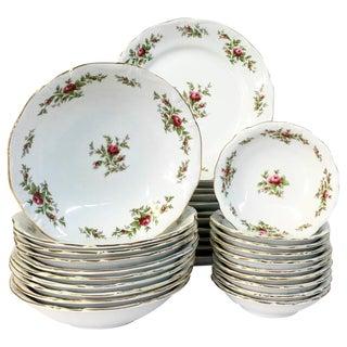 Vintage Johann Haviland Porcelain Dinnerware - Set of 31