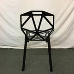 Image of Magis Black Chair One - Set of 8