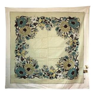 Vintage Parisian Prints Floral Tablecloth