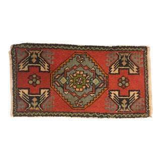 "Anatolian Decorative Wool Rug - 1'8"" x 3'2"""