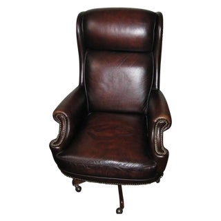 Hooker Leather Office Chair
