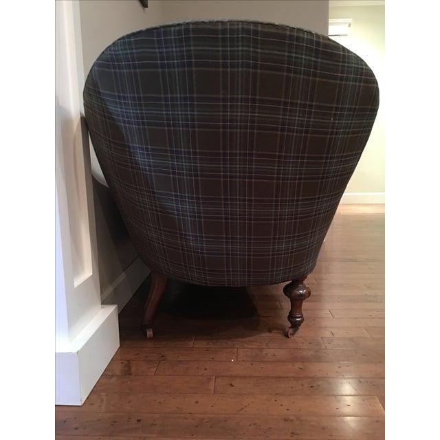 Image of Custom Upholstered Chaise Sofa