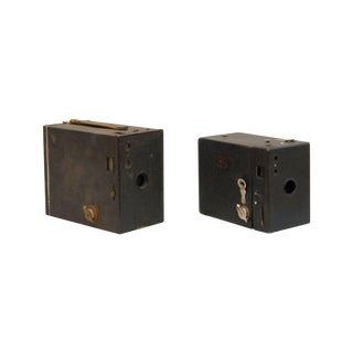 Kodak Brownie Box Cameras - A Pair