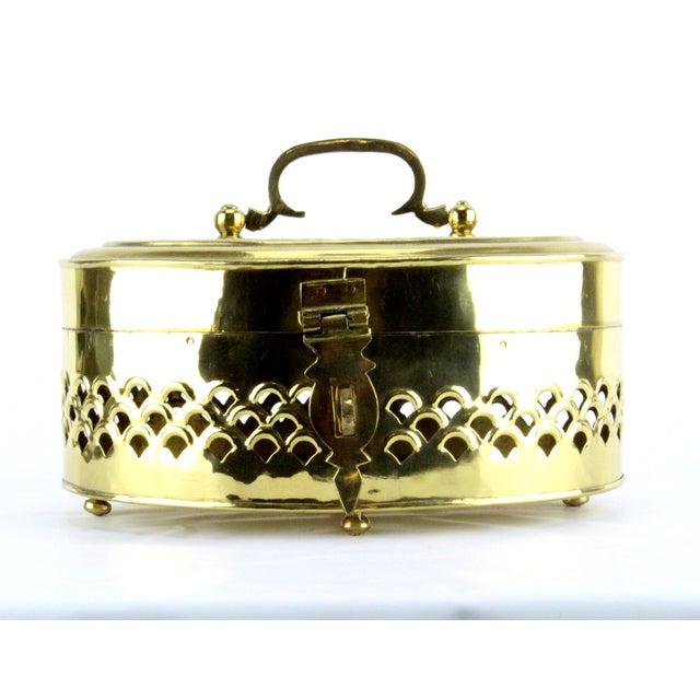 Pierced Brass Cricket Box - Image 3 of 5