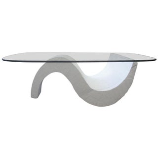 S-Base Concrete Coffee Table