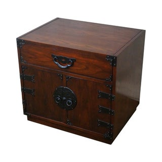 Baker Asian Style Campaign Chest Nightstand