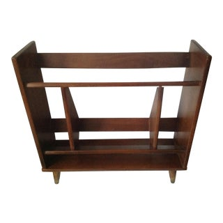 Mid-Century Modern Shelf Bookcase