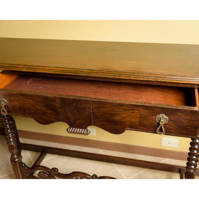 American Walnut Sofa Table - Image 7 of 8