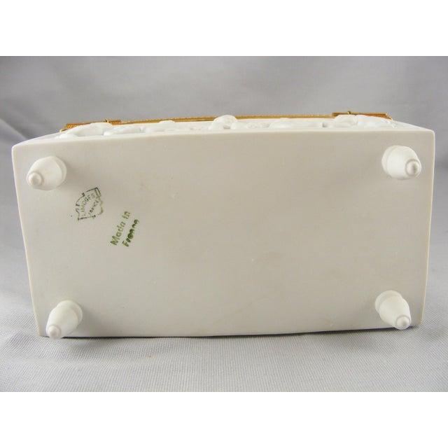 Limoges France White Bisque Dresser Box - Image 10 of 10