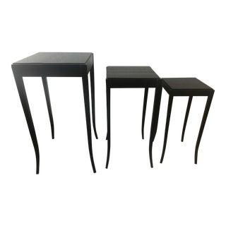 Baker Mahogany Nesting Tables - Set of 3