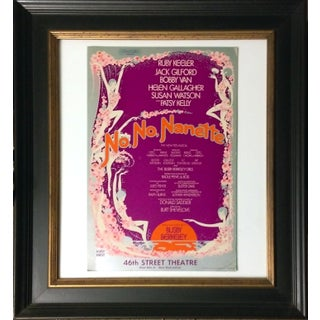 """Vintage 1977 """"No No Nanette"""" Broadway Poster"""