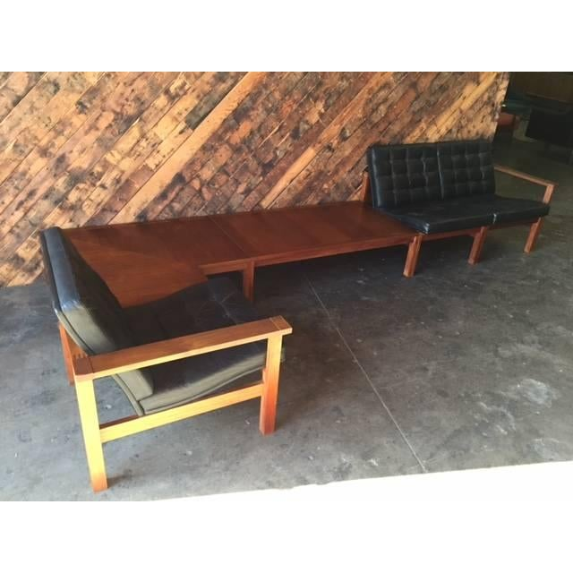 Image of Rare Ole Gjerlov Kundsen Modular Table Chair Set