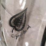 Image of Georges Briard Signed Divided Leaf Dish