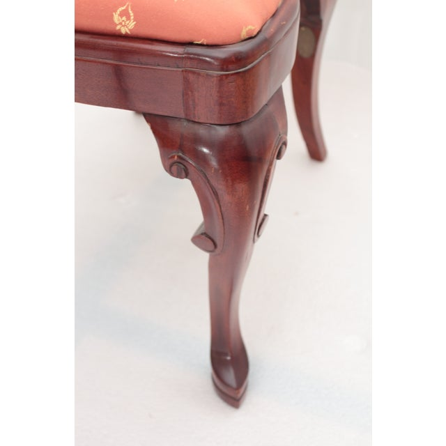 Queen Anne Accent Chair - Image 5 of 5