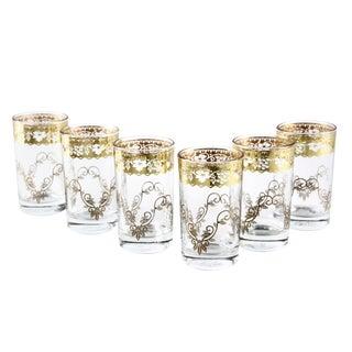 Fez Gold Tea Glasses - Set of 6