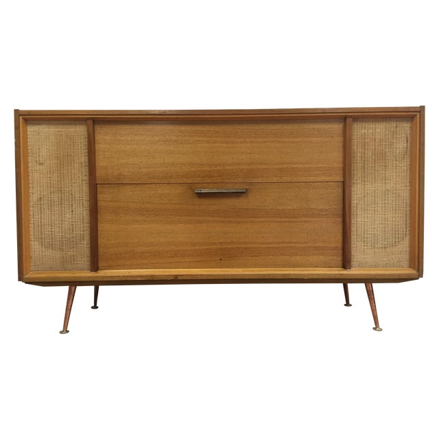 Mid-Century Saba German Radio Console - Image 1 of 11