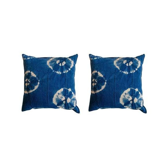 Image of African Textile Pillows - A Pair