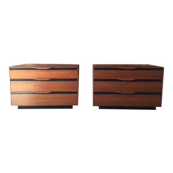 Mid-Century Dressers by John Kapel - Pair - Image 1 of 7