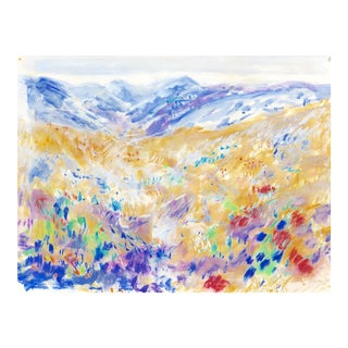 Palm Springs Landscape Painting