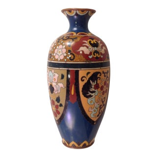 19th Century English Cloisonné Vase