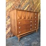 Image of Mid-Century Broyhill Brasilia Walnut Chest Dresser