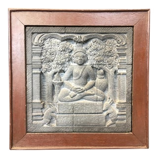 Dhyani Buddha Relief