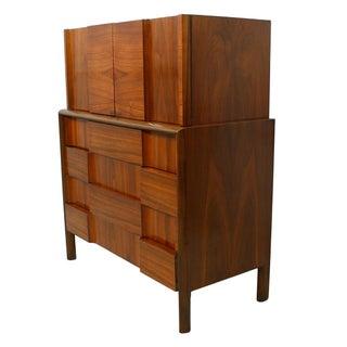 Swedish Modern Walnut Dresser by Edmund Spence
