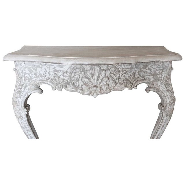 1930s Painted French Console - Image 4 of 7