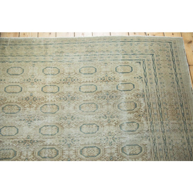 "Vintage Distressed Kaisary Carpet - 6'7"" x 9'5"" - Image 8 of 10"