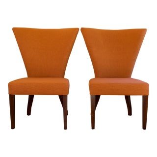Thayer Coggin Limited Edition Dining Chairs - Pair